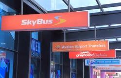 Общественное trasport Мельбурн Стоковые Изображения