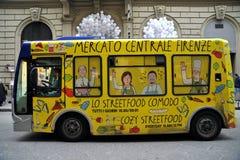 Общественное trasportation в Флоренсе, Италии стоковые изображения