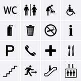 Общественные значки Стоковые Изображения