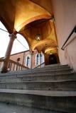 общественные лестницы стоковая фотография