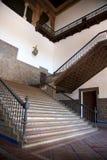 общественные лестницы seville Испании квадратные стоковое фото