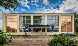 Общественный бассейн в Slavyansk Стоковые Изображения