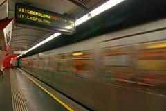 общественный местный транспорт Стоковое Фото