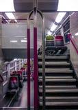 общественный местный транспорт стоковые фотографии rf