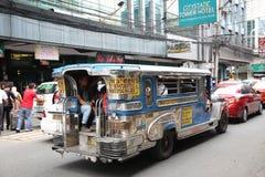 Общественный местный транспорт Jeepney Стоковое Фото