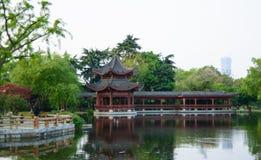 Общественный парк в Китае Стоковые Фото