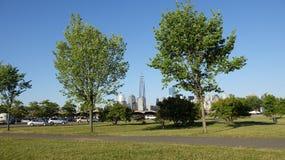 Общественный парк и башня свободы Стоковая Фотография