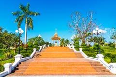 Общественный парк, Luang Prabang, Лаос Стоковые Изображения RF