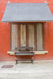 Общественный стул для туриста. Стоковые Изображения RF