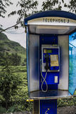 общественный телефон Стоковое Изображение