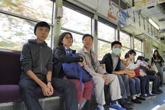 общественный транспорт Стоковые Изображения RF