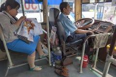 общественный транспорт Стоковое фото RF