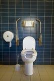общественный туалет стоковое изображение rf