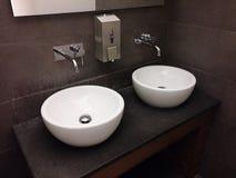 общественный туалет Стоковая Фотография RF
