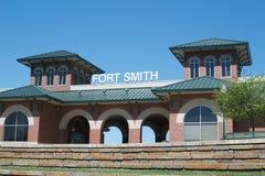 Общественный центр парка берега реки Fort Smith, Арканзаса Стоковое фото RF