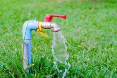 Общественный faucet воды Стоковые Фото