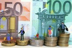 общество евро Стоковое фото RF