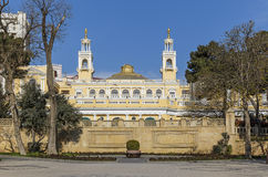 Общество положения филармоническое в Баку Стоковое Изображение