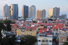 Общий взгляд Neve Tzedek Tel Aviv Стоковое Изображение
