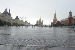 Общий вид Москва красной площади стоковое изображение rf