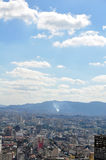 Общий вид São Paulo Стоковое фото RF
