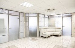 Общий интерьер офисного здания Стоковое Фото