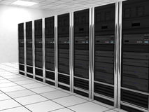 общий сервер комнаты иллюстрация штока