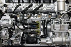 общий тепловозный рельс Стоковое Изображение RF