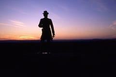 общий warren статуи стоковая фотография rf