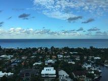 Община, океан, небо, и Intracoastal Стоковые Фотографии RF