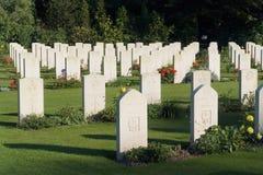 объединенное война кладбища Стоковое Фото