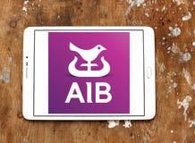 Объединенные ирландские банки, логотип AIB Стоковое фото RF