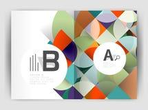 Объезжайте предпосылки вектора абстрактные, шаблоны дела годового отчета бесплатная иллюстрация