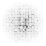 Объезжайте элемент полутонового изображения, monochrome абстрактный график для DTP, pr иллюстрация вектора