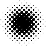 Объезжайте элемент полутонового изображения, monochrome абстрактный график для DTP, pr Стоковое фото RF