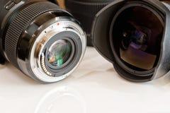 Объективы взгляда для цифровой фотокамера от различных сторон Стоковая Фотография RF