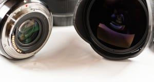 Объективы взгляда для цифровой фотокамера от различных сторон Стоковые Изображения