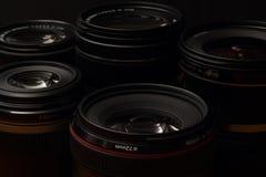 Объективы фотоаппарата Стоковые Фотографии RF