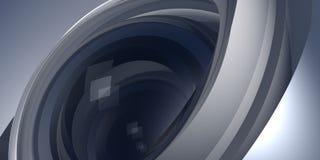 объективы фото 3d стоковая фотография rf