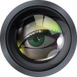 объектив иллюстрации фотографический Стоковые Изображения RF