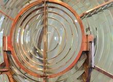 Объектив маяка Fresnel Стоковые Изображения RF
