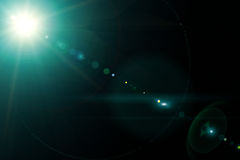 Объектив фотоаппарата с отражениями lense Стоковое Изображение RF