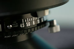 объектив фотоаппарата 45 стоковая фотография rf