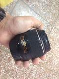 Объектив фотоаппарата Nikon Стоковые Изображения RF