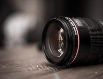объектив для крупного плана камеры Стоковые Фотографии RF
