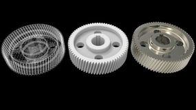объекты дизайна 3D Стоковые Фотографии RF