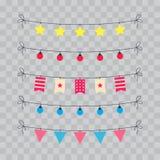 Объекты дня рождения  Стоковое Изображение RF