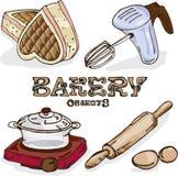 Объекты хлебопекарни Стоковая Фотография RF