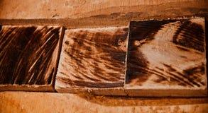 Объект Брауна деревянный с фото текстур уникальным стоковые изображения