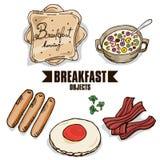 Объект завтрака Стоковое Изображение RF
